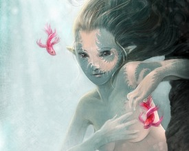 Fractal mermaid