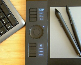 Set the led of Wacom Intuos4 tablet on LinuxMint