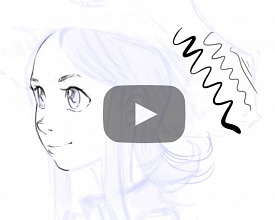 Line-art tips with Krita