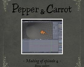 Making-of Pepper&Carrot ep4