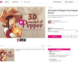 3D model Indiegogo campaign by Nikolai Mamashev
