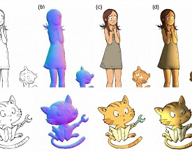 Scientific Publication: Deep Normal Estimation for Automatic Shading of Hand-Drawn Characters by Trinity College Dublin