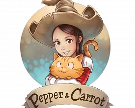 Pepper and Carrot logo