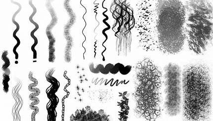 Chaos&Evolutions brushes