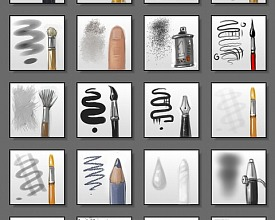 Mypaint brushes V3