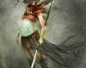 Dw5 : Goddess Apocalypse Speedpainting