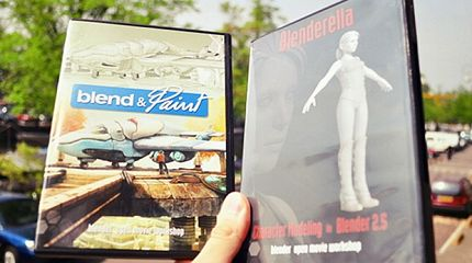 Blend&Paint and Blenderella Dvd issue