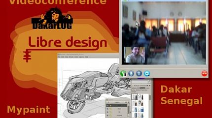 Mypaint video-conference in Dakar, Senegal