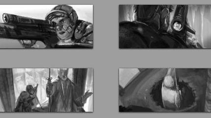 Tears-of-Steel making-of: storyboard workflow