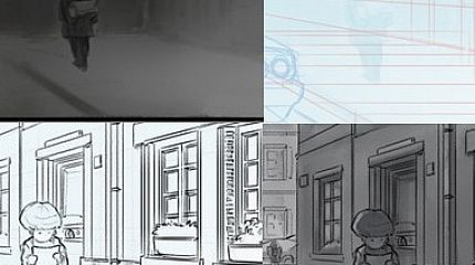 Making of the webcomic «l'héritage en couleur»