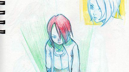 Sketchbook, 6 pages of October 2012