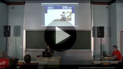 Krita 2.6: video de presentation (Capitole du libre 2012)