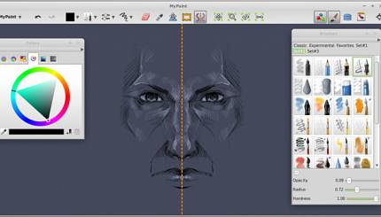 Software review: Mypaint 1.1 new features