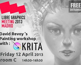 Krita workshop at LGM 2013
