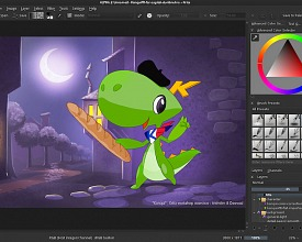 Krita Workshop: Capitole du Libre 13