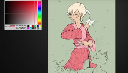 Video tutorial: coloring with Gmic Colorize[interactive] in Krita