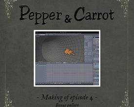 Making-of Pepper&Carrot ep4