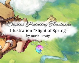 "Timelapse video: ""Flight of Spring"""