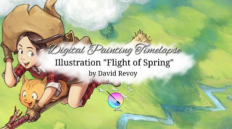 "Timelapse video: ""Flight of Spring"""