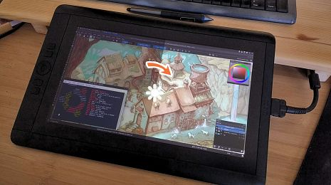 Cintiqs on GNU/Linux: How to setup brightness, contrast and more.