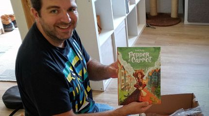 Pepper&Carrot derivation: a third book printed by Glénat