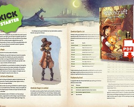 Derivation: Witchcraft RPG supplement on Kickstarter by Xacur