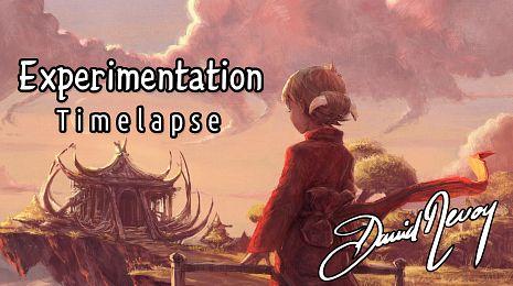 Experimentation: timelapse video