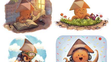 Peertube v3 illustrations