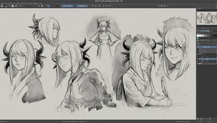 Wasabi character design