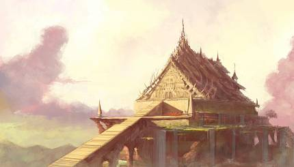 The main temple of Ah