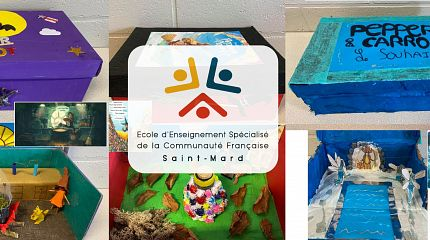 Derivation: Boxes by students of EESPSCF Saint-Mard