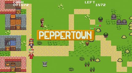 Derivation: Peppertown video-game by Congusbongus and StarNavigator