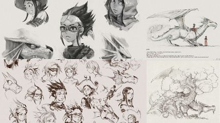 Studies for episode 35