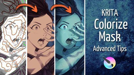 Krita Colorize-Mask: Advanced Tips