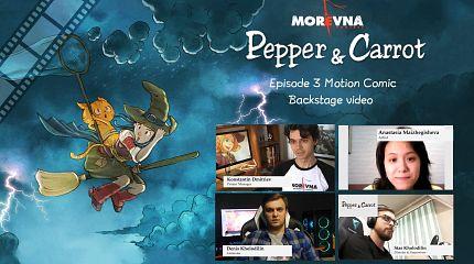 Derivation: Episode 3 Motion Comic by Morevna (Backstage video)