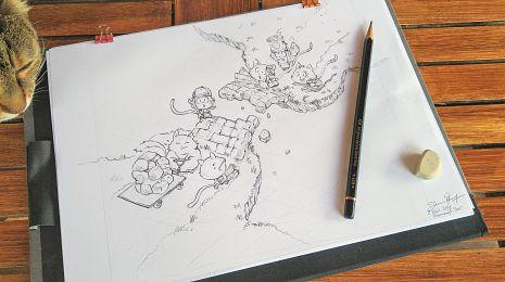 Sketch vs Final