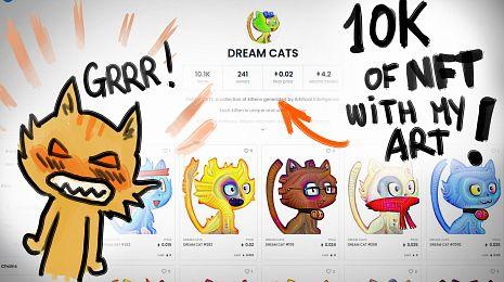 Dream Cats NFT: don't buy them