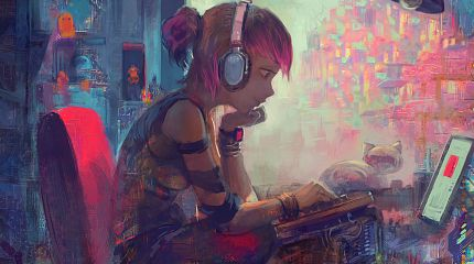 Lofi Cyberpunk