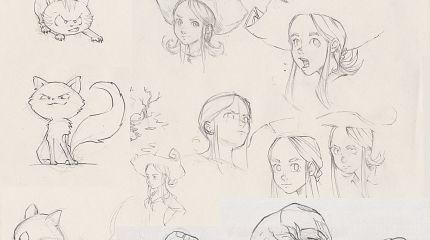 Episode 6 sketchbook