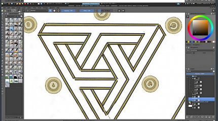 Making of Magic System illustration