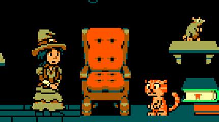 Pepper&Carrot derivation: pixel-art retro platformer on Opengameart by Surt and Bart