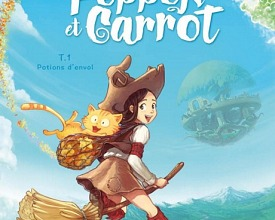 Pepper&Carrot derivation: first book printed by Glénat