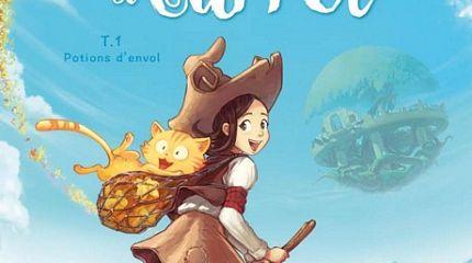 Pepper&Carrot derivation: first book printed by Glénat