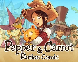 Pepper&Carrot derivation: a Motion Comic video project by Morevna team