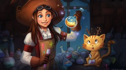 Pepper&Carrot derivation: Hereva Adventure, a video-game project by X-Paws