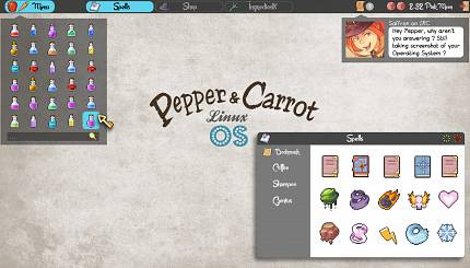 Pepper&Carrot Linux O.S.