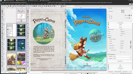 The difficulties of doing an open comicbook project for print