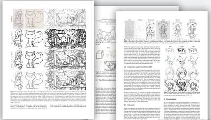 Scientific Paper: Sketch to Line-art by Waseda University