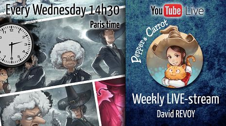 All weekly wednesday LIVE-streaming