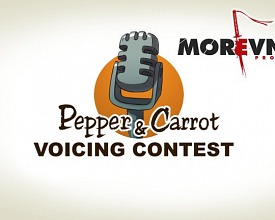Voicing contest by Morevna team
